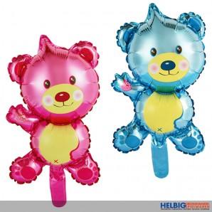 "Folienballon ""Teddy Bär - Boy & Girl"" 40 cm - 2-sort."