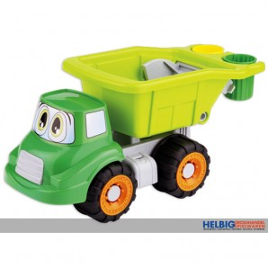"Sand-Kipper - ""Biomüll-Kipper - Happy Truck"" 32 cm"
