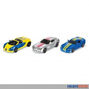 Siku 6323 - Sportwagen-Set
