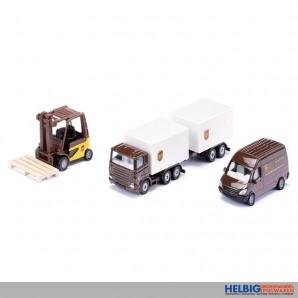 Siku 6324 - UPS Logistik Set