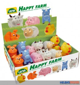 """Wasser-Spritztiere """"Happy Farm"""" - 6-sort."""