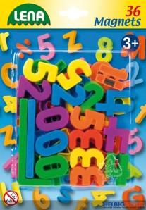 Magnet-Zahlen & Zeichen - 36er Set