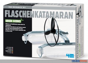 "Green Science ""Flaschen-Katamaran"""