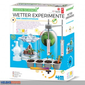 "Green Science ""Wetter Experimente"""