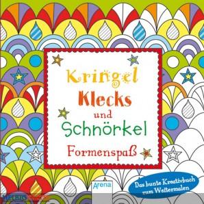 """Kreativbuch """"Kringel, Klecks und Schnörkel"""" - Formenspaß"""