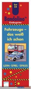 "Bandolino Set 54 - Kindergarten ""Fahrzeuge"""