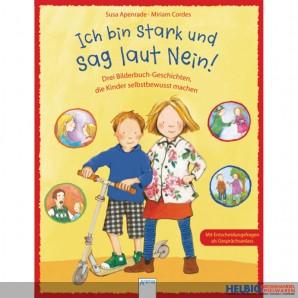 """Geschichten-Bilderbuch """"Ich bin stark und sag laut Nein"""