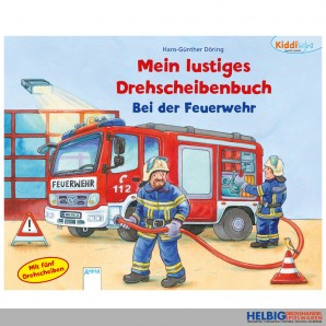 """Kiddilight: Drehscheibenbuch """"Bei der Feuerwehr"""""""