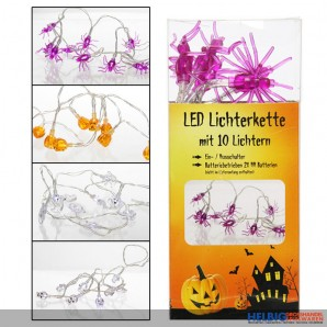 """LED-Lichterkette """"Halloween"""" - 4 sort."""