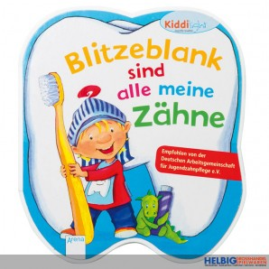 """Lernbuch """"Kiddilight: Blitzeblank sind alle meine Zähne"""""""