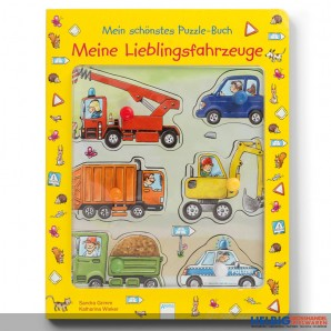 """Mein schönstes Puzzlebuch """"Meine Lieblingsfahrzeuge"""""""
