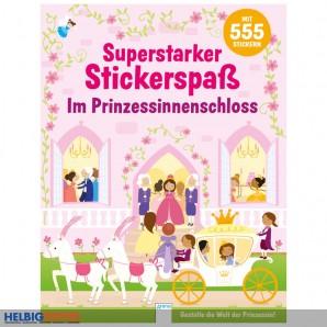 "Kreativbuch ""Superstarker Stickerspaß: Prinzessinnenschloss"""