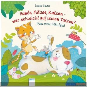 """Fühl-Bilderbuch """"...wer schleicht auf leisen Tatzen?"""""""