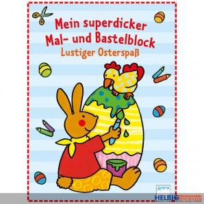 "Mal- & Bastelblock ""Lustiger Osterspaß"""