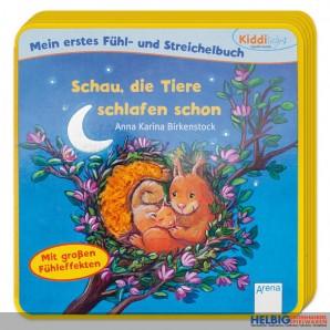 """Kiddilight - Fühl- & Streichelbuch """"Tiere schlafen schon"""""""