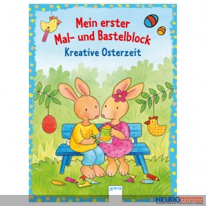 "Mein 1. Mal- & Bastelblock ""Kreative Osterzeit"""