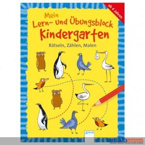"""Lernblock """"Mein Lern- & Übungsblock"""" Kindergarten"""