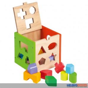 Holz-Steckbox - 14-tlg.