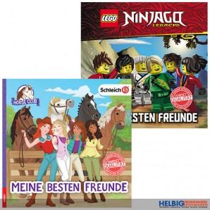 """Lego® & Schleich®-Freundebuch """"Meine besten Freunde"""" 2-sort."""