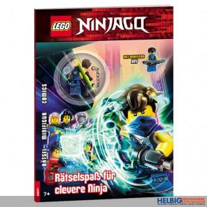 """Rätsel-Heft """"Lego® Ninjago: Rätselspaß für Ninja"""""""