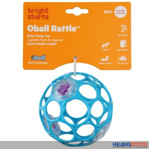 "Oball ""Rattle/Rassel"" 10 cm - sort."