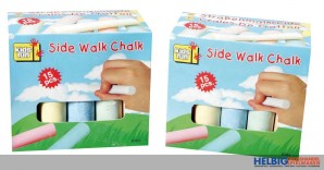 "Strassenmalkreide ""Side Walk Chalk"" - 15er Box"