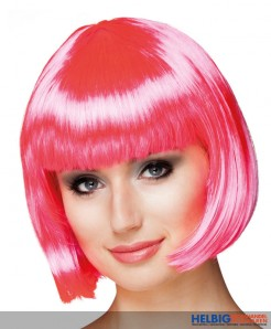 "Perücke ""Cabaret"" - pink"