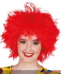 """Clown-Perücke """"Frizzy"""" rot"""