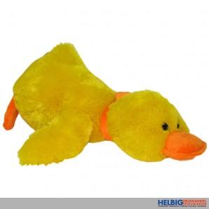 Plüsch-Ente liegend - 50 cm