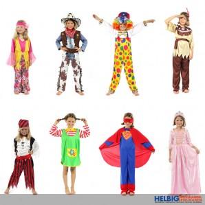 Kinder-Karneval-Kostüme - 8-sort.