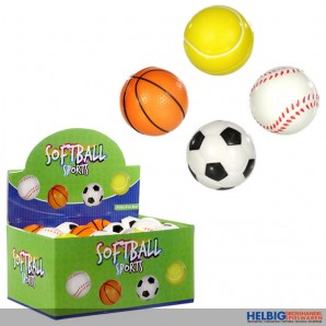"Mini-Softbälle ""Sports"" - 4-sort."