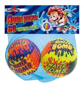 2er Soft-Wasserbomben/ Wasserbombenball gr.