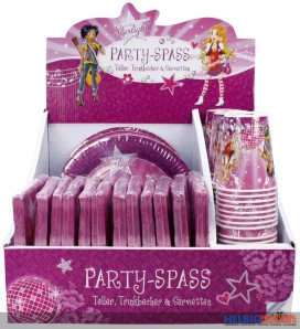 "Party-Geschirr ""Miss Starlight"""