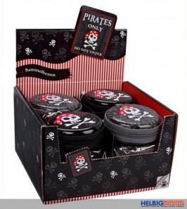 """Sammelbox """"Pirates Only"""" inkl. Karabiner"""