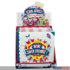 "Freundebuch ""Schul-Heroes - Meine Super Freunde"""