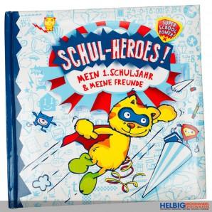 """Freundebuch """"Schul-Heroes -  Mein 1. Schuljahr"""""""