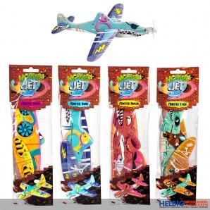 "Styropor-Flieger ""Streetstyle Monster Jets"" 4-sort."