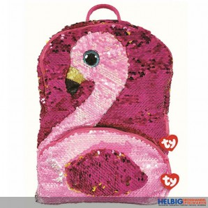 "Ty Fashion - Pailletten-Rucksack 33 cm - Flamingo ""Gilda"""