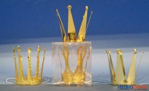 "Krone ""Prinzessin"" gold - sort."