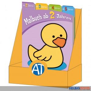 "Malbuch-Sortiment ""Malbuch ab 2-5 Jahren"""