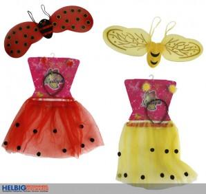 """Kinder-Kostüm-Set """"Biene/Marienkäfer"""""""