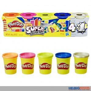 """Spiel-Knete """"Play-Doh"""" 5er Pack"""
