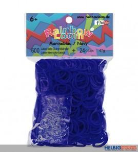 """Rainbow Loom - Gummibänder """"Marineblau"""""""