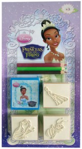 Stempelspiel - Disney The Princess and the Frog