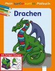 """Mein kunterbuntes Malbuch """"Drachen"""""""