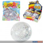 "Aufblasbarer ""Fun-Ball/Bubble Ball - Glitter"" - sort."