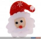"""LED-Anstecker """"Weihnachtsmann"""""""