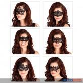 "Spitzen-Maske ""Ornament"" - 6-sort."