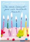 """Glückwunschkarte Geburtstag """"Leuchtende Momente"""""""