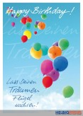 "Glückwunschkarte Geburtstag ""Luftballons"""